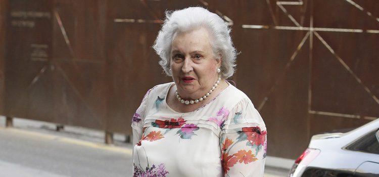 La Infanta Pilar en la presentación de la autobiografía de Siméon de Bulgaria