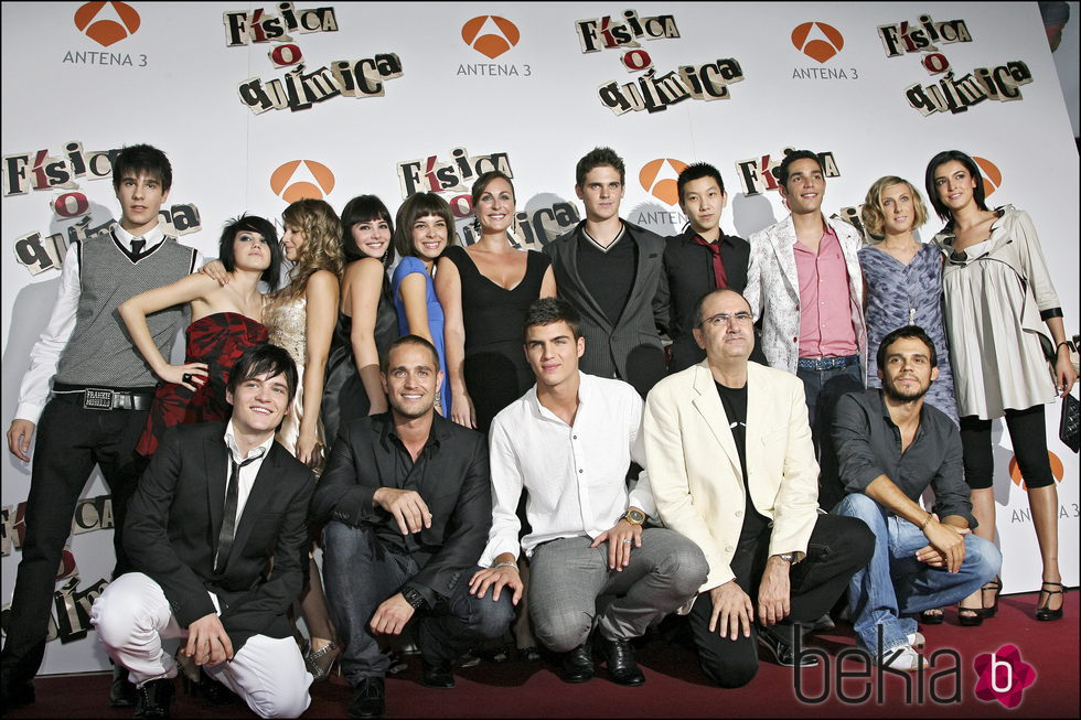 Los protagonistas de 'FoQ'