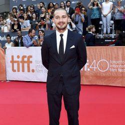 Shia LaBeouf durante la presentación de 'Man Down' en el Festival Internacional del Cine de Toronto