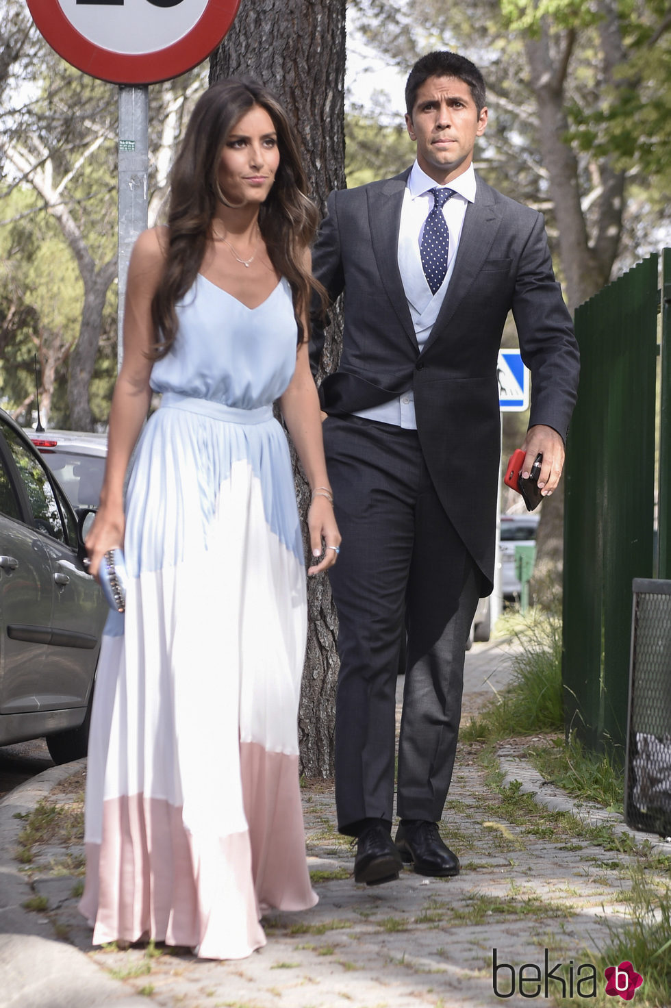 Ana Boyer y Fernando Verdasco en la boda de Sara Verdasco y Juan Carmona