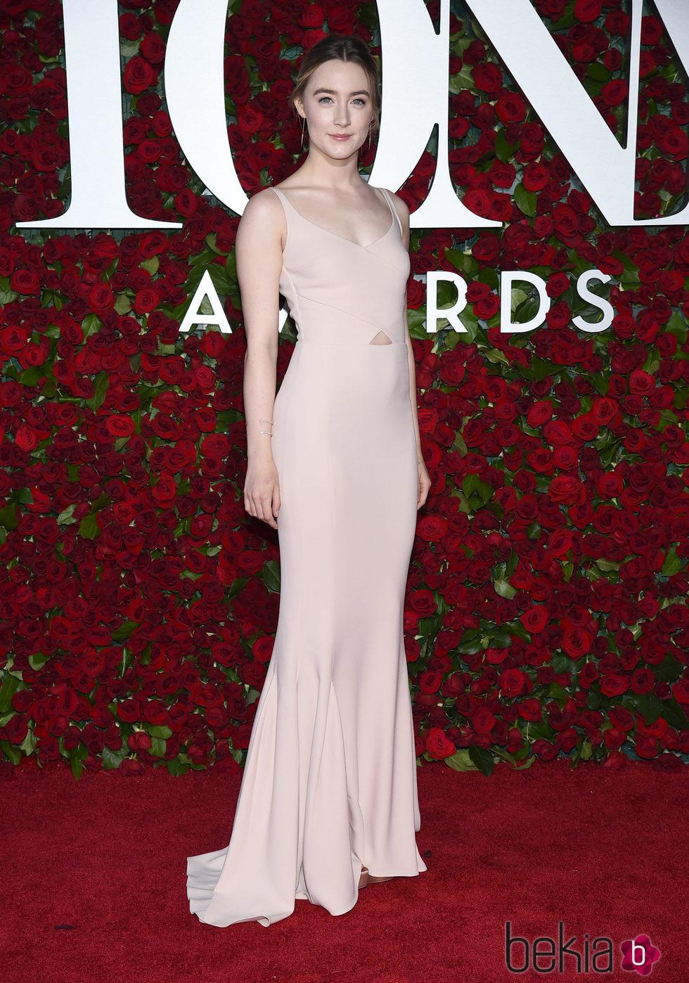Saoirse Ronan en  los Premios Tony 2016