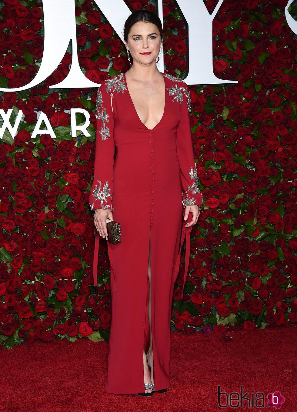 Keri Russell en los Premios Tony 2016