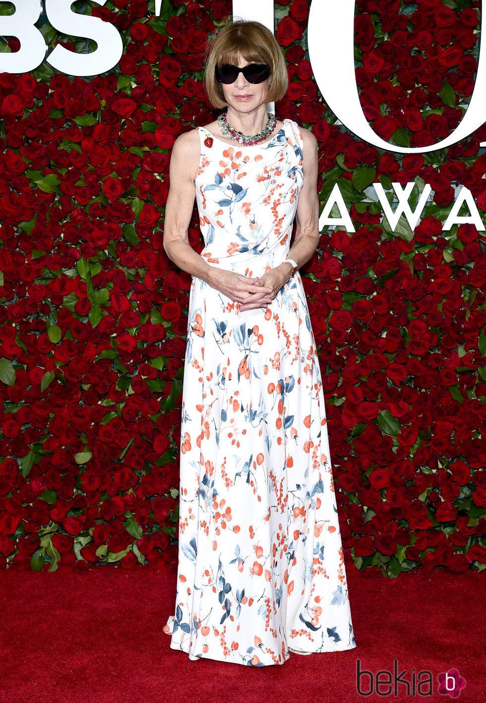 Anna Wintour en los Premios Tony 2016