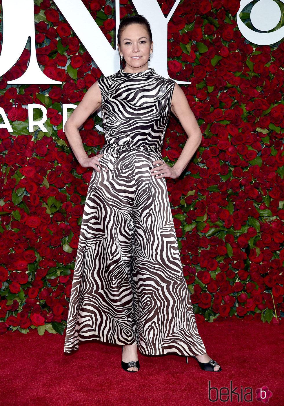 Diane Lane en los Premios Tony 2016