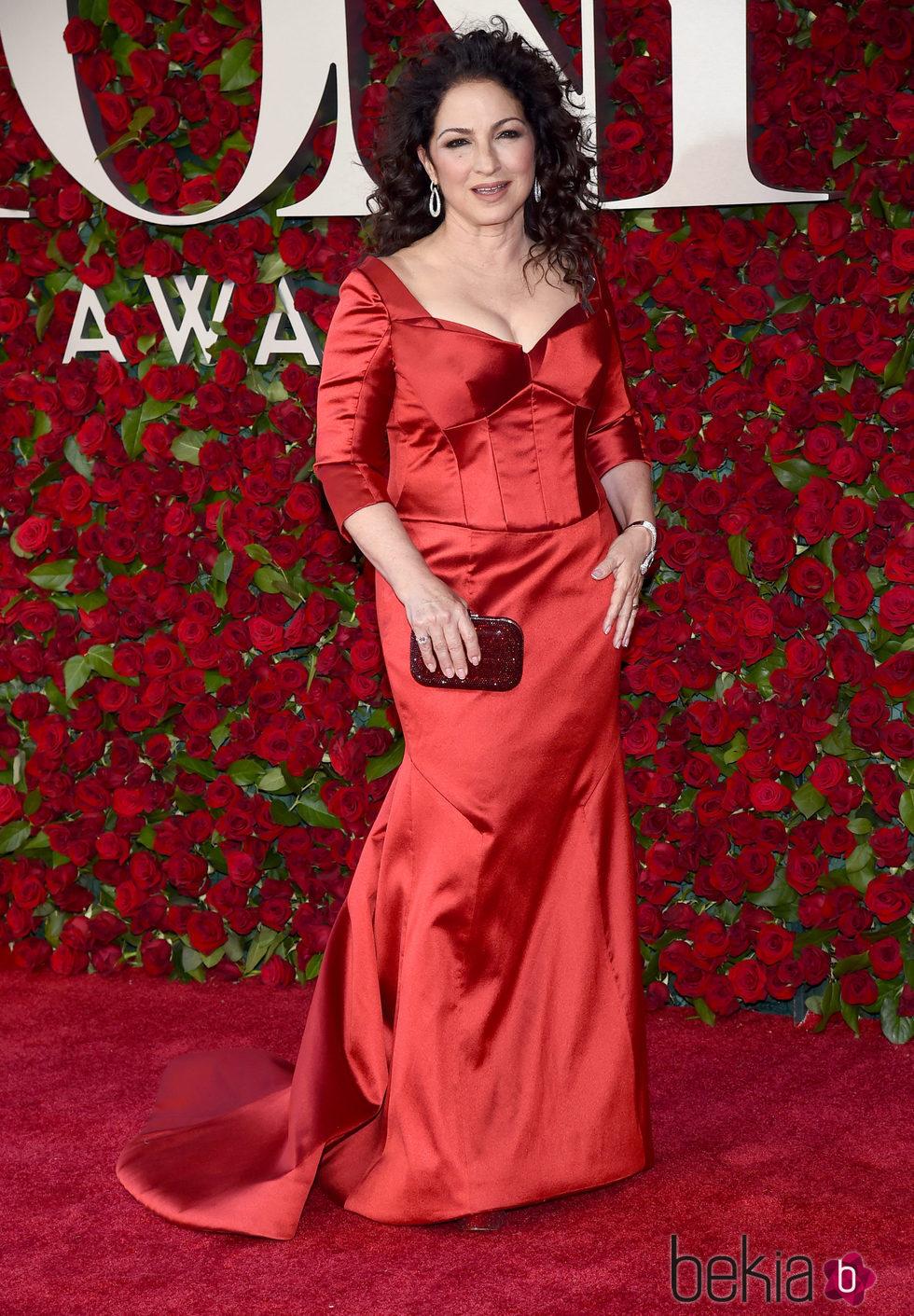 Gloria Estafan en los Premios Tony 2016