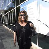 Terelu Campos en la Clínica de la Luz tras la operación de su madre María Teresa