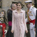 La Reina Letizia en la entrega de la Bandera Nacional en Salamanca