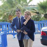 La Infanta Cristina e Iñaki Urdangarín en el segundo día de presentación de conclusiones del juicio de Nóos