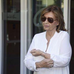 María Teresa Campos recibe el alta médica tras extirparle la vesícula