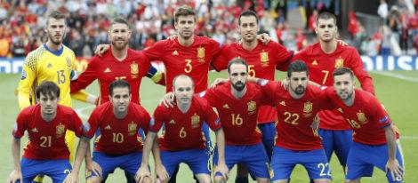 La Selección Española de Fútbol en la Eurocopa 2016