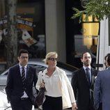 Ana Duato llega a la Audiencia Nacional para declarar por presunto fraude fiscal