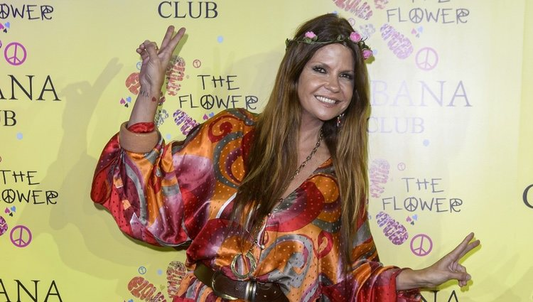 Makoke en la fiesta Flower Power de Madrid