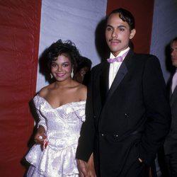 Janet Jackson y James DeBarge en la 12º edición de lo premios Americanos de la Música