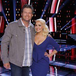 Blake Shelton en la octava temporada de 'The Voice'