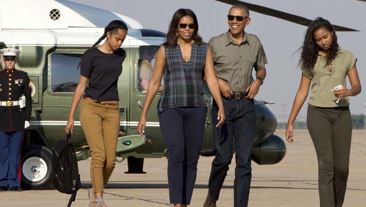 Los Obama de vacaciones en Nuevo México