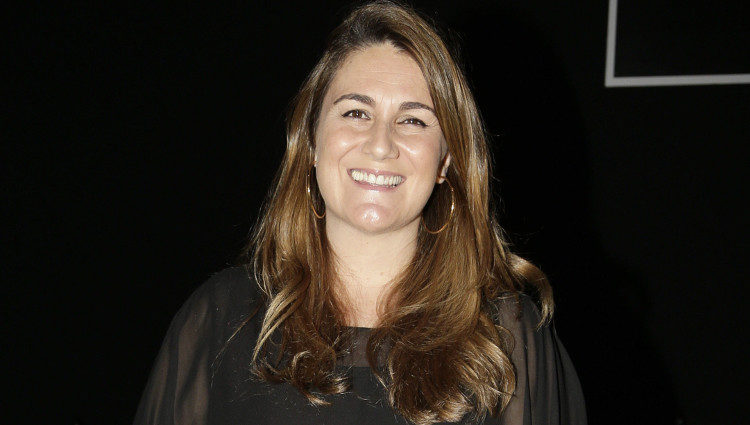 Carlota Corredera en la presentación de la nueva colección de Elena Miró