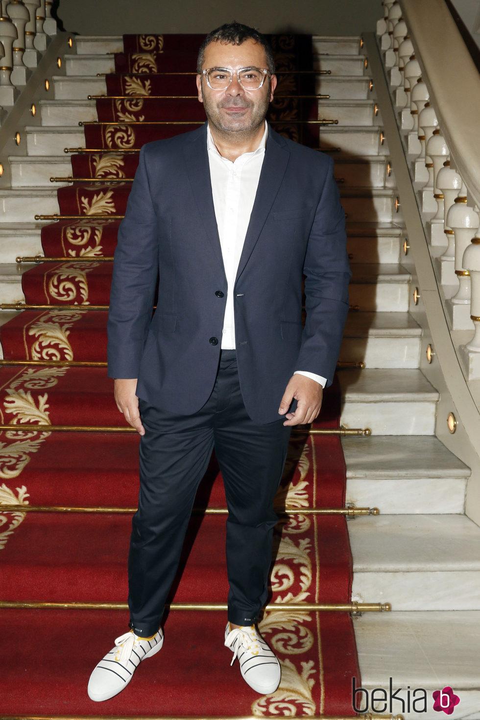 Jorge Javier Vázquez en la presentación de 'Iba en serio' en Barcelona