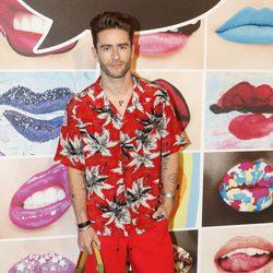 Pelayo Díaz durante la fiesta de inauguración de la nueva tienda de la firma Mac cosmetics en Barcelona