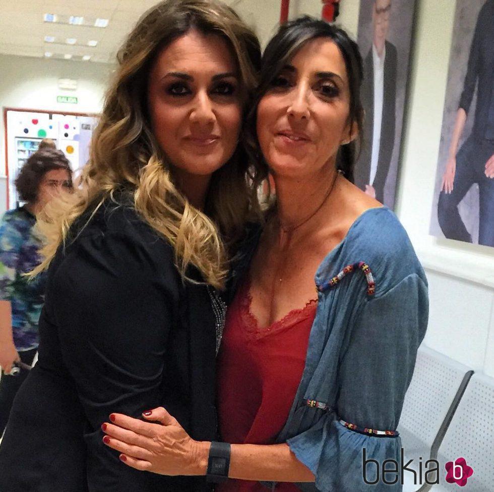 Carlota Corredera y Paz Padilla