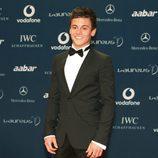 Tom Daley durante 'the Laureus Awards' en Abu Dhabi