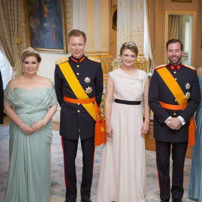 Los Grandes Duques de Luxemburgo y los Herederos en la Fiesta Nacional de Luxemburgo 2016