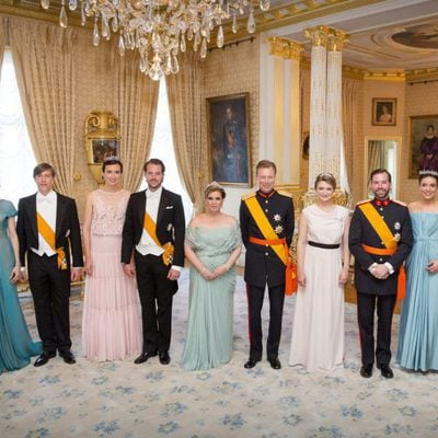 La Familia Real de Luxemburgo en la Fiesta Nacional de Luxemburgo 2016