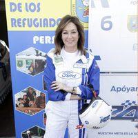 Ana Rosa Quintana durante la 13 edición de las 24 Horas Ford en el Circuito del Jarama