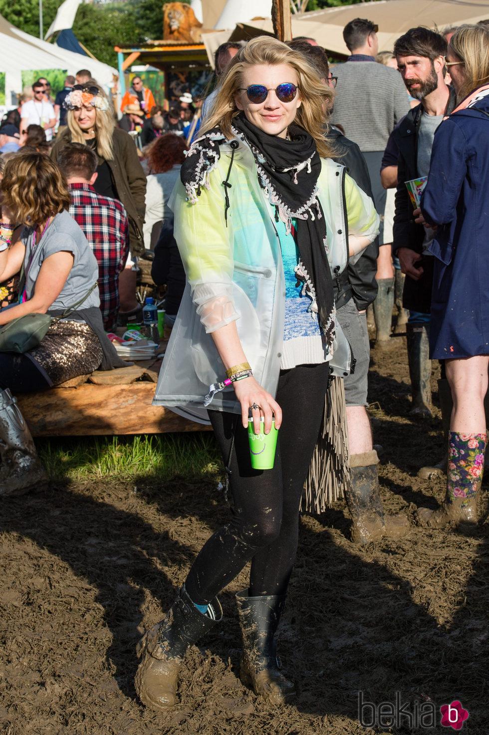 Natalie Dormer en el festival de Glastonbury 2016