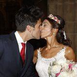 Guillermo Martín y Lidia Reyes en su boda en Códoba