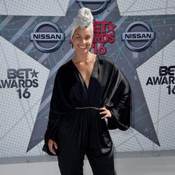 Alicia Keys en los BET Awards 2016.
