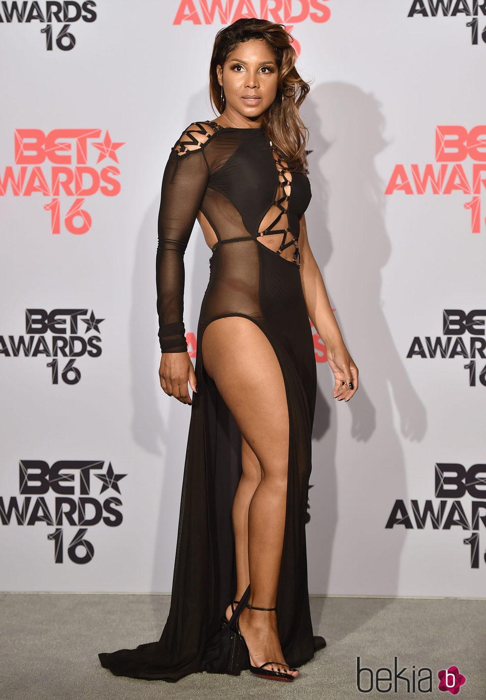Toni Braxton en los BET Awards 2016.