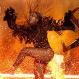 Beyoncé baila sobre el agua durante su actuación en los BET Awards 2016