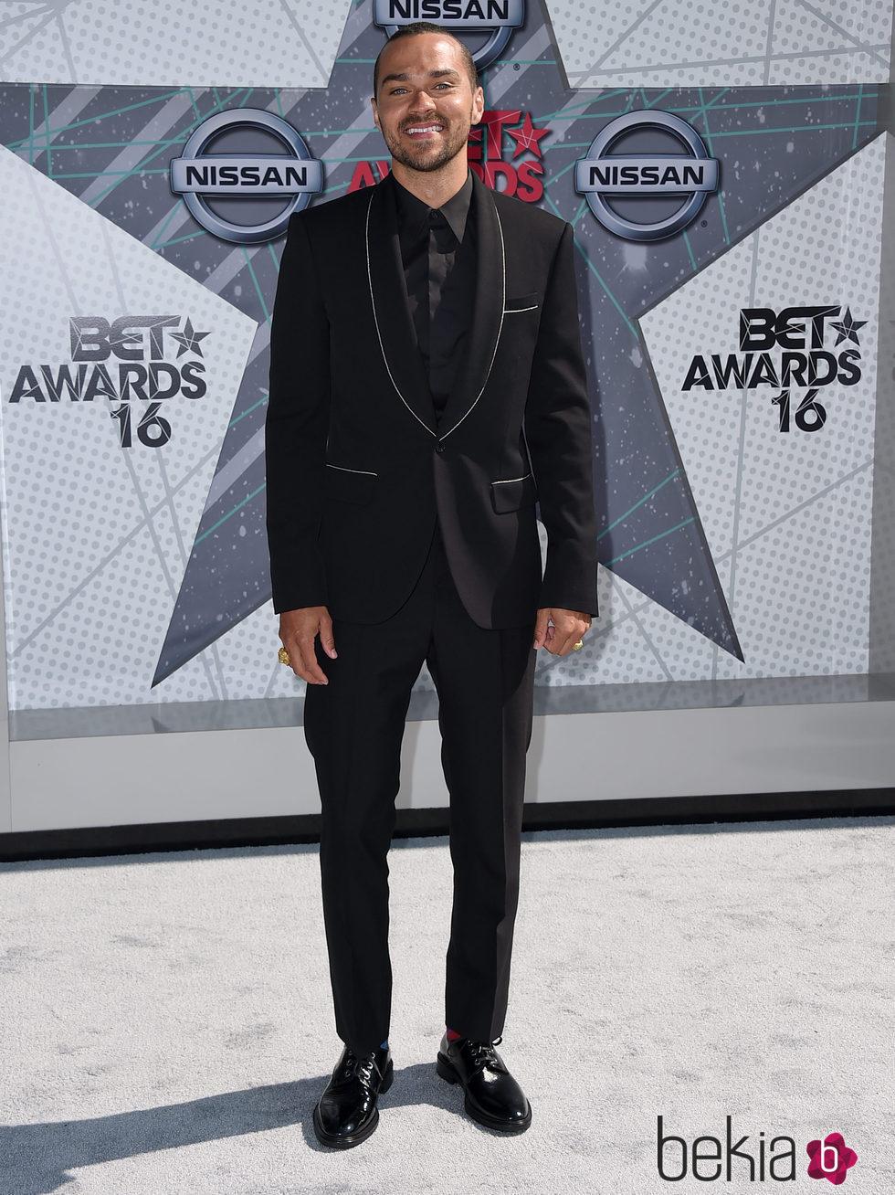 Jesse Williams en los BET Awards 2016