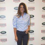 Laura Matamoros en la presentación del  Land Rover Discovery Challenge 2016