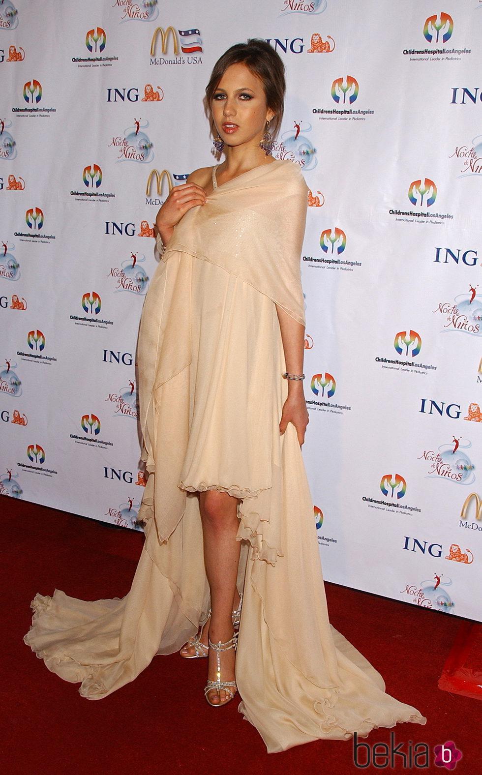 Allegra Beck durante  la 2º edición de la gala 'La noche de los niños'