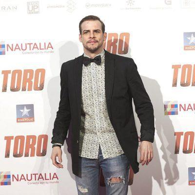 Álex Casademunt en el estreno de 'Toro' en Madrid