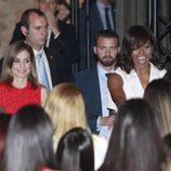 La Reina Letizia y Michelle Obama en la presentación de la iniciativa Let Girls Learn