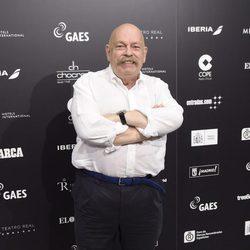 José María Íñigo en el concierto benéfico 'Plácido en el alma'