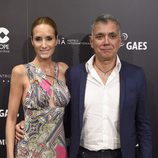 Juan Ramón Lucas y Sandra Ibarra en el concierto benéfico 'Plácido en el alma'