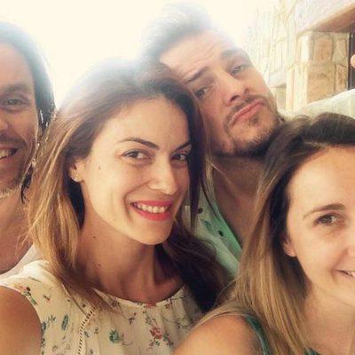Geno, Álex Casademunt, Mireia y Javián se reencuentran