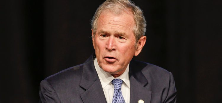 George W. Bush durante 74º edición de los premios anuales 'Father of the Year'