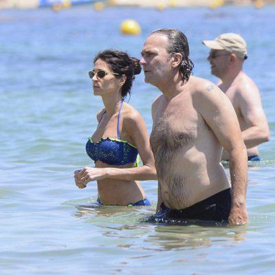 José Coronado y Elena González en sus vacaciones en Ibiza