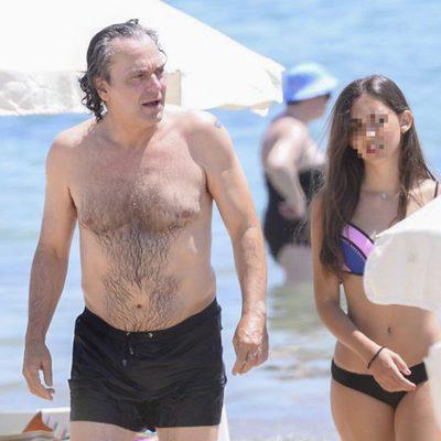 José coronado con Candela Coronado durante sus vacaciones en Ibiza