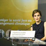 La Reina Letizia en la apertura de la Segunda Conferencia Global sobre Salud y Cambio Climático