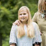 La princesa Amalia de Holanda en el posado de verano 2016