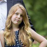 La princesa Alexia de Holanda en el posado de verano 2016