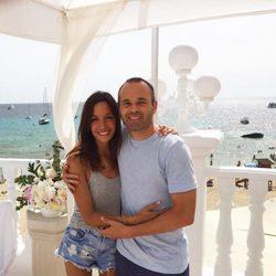 Andrés Iniesta y Anna Ortiz celebran su cuarto aniversario de boda