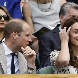Los Duques de Cambridge en la final de Wimbledon 2016