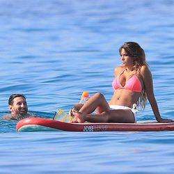 Leo Messi y Antonella de vacaciones en Ibiza