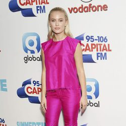 Zara Larsson a su llegada a 'Capital's Summertime Ball'